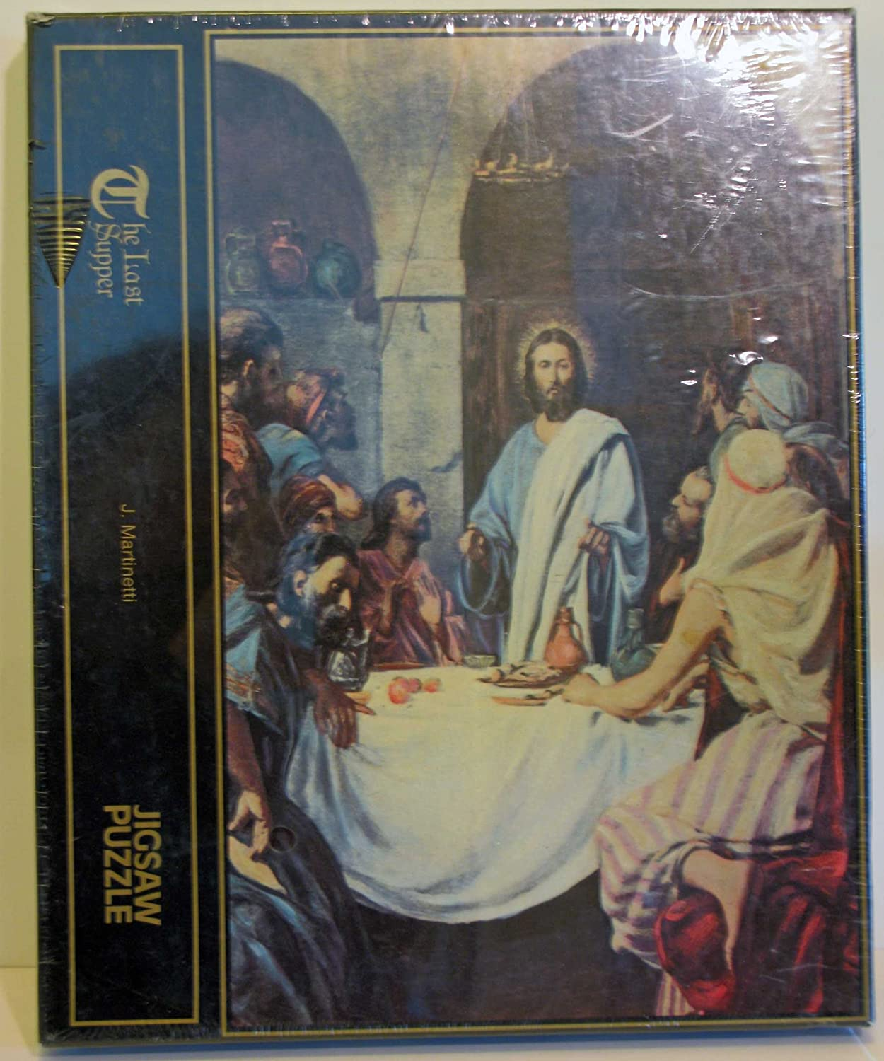 MARTINETTI THE LAST SUPPER 500 PIECE JIGSAW PUZLE J