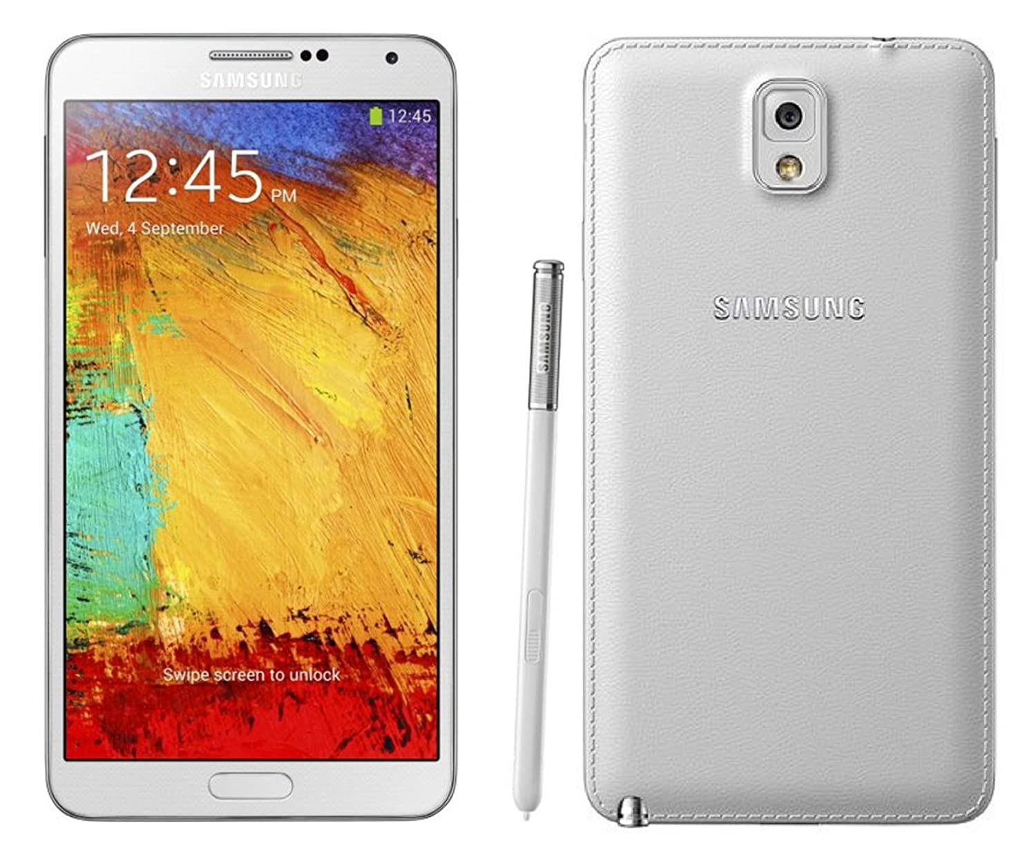 Samsung Galaxy Note 3 N9005 32GB 4G LTE WHITE Unlocked International Version