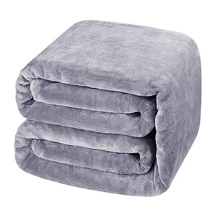 Amazon.com  HOMEIDEAS Luxury 380 GSM Fleece Blanket(King 560ed0213
