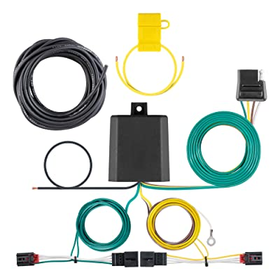 CURT 56374 Vehicle-Side Custom 4-Pin Trailer Wiring Harness for Select Volkswagen Golf R: Automotive [5Bkhe2004832]