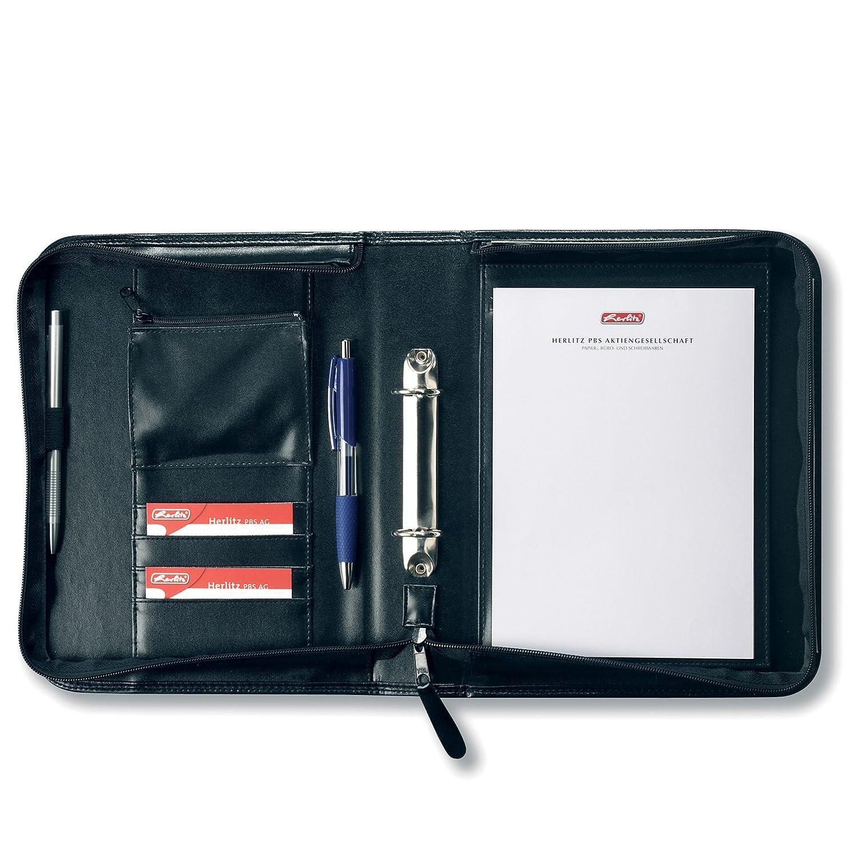 Herlitz 5541685 Porte-documents universel A5 (Noir) (Import Allemagne)