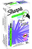 Sharpie Clear View Highlighter Stick, Green, Box of 12 (1950450)