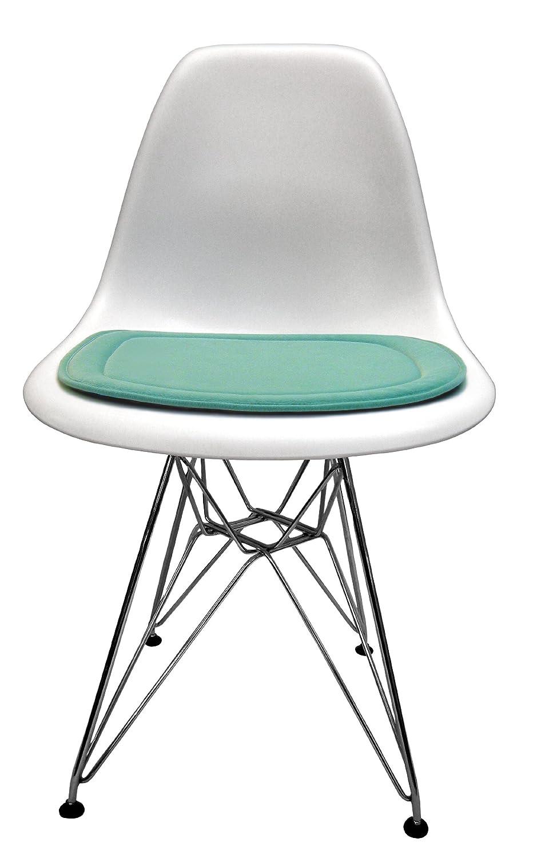 Amazon.com: Almohadilla de Asiento para Eames – Silla de ...