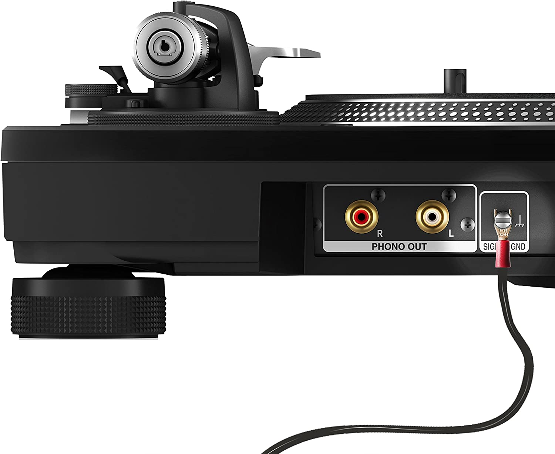 de la marca 1STec/® 3 Metros Full RCA Cable para reproductor de audio y grabador con toma de tierra para detener el zumbido de fondo Earth Cable
