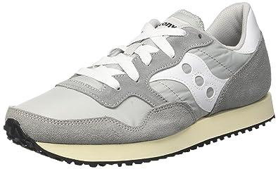 Saucony DXN Trainer Vintage, Chaussures de Gymnastique Mixte Adulte, Gris (Gry/WHT 4), 44 EU