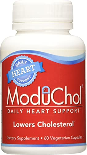 Kyolic Moduchol Daily Cholesterol Health Vegetarian Capsules, 60 Count