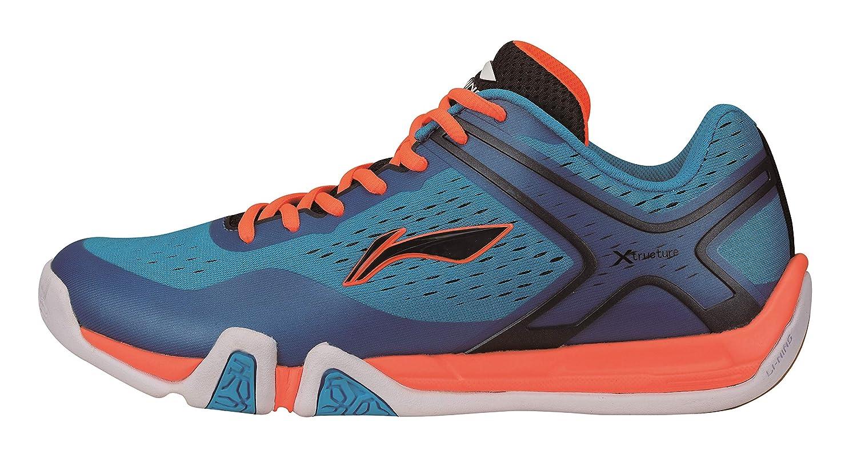 Li-Ning AYTM039-1 Flash X Chaussures de Badminton pour Homme Bleu