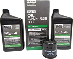 Polaris PS-4 Oil Filter Change Kit Sportsman ATV Ranger