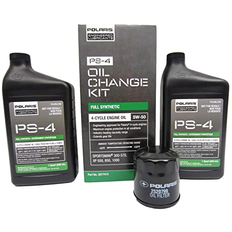 Amazon.com: POLARIS PS-4 OIL FILTER CHANGE KIT SPORTSMAN ATV RANGER ...