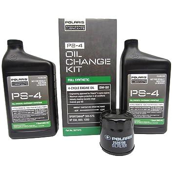 Polaris ATV OEM 4 Stroke + Oil & Filter Change Kit