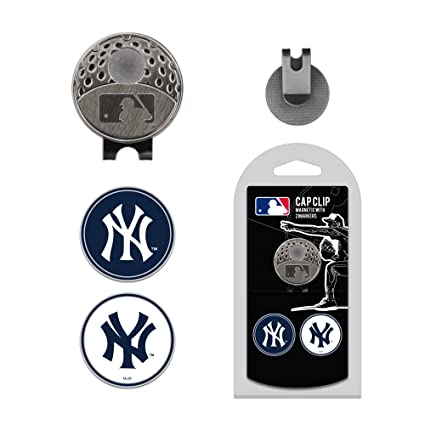 8c49736794e5e3 Image Unavailable. Image not available for. Color: MLB New York Yankees  Golf Cap Clip 2 Markers