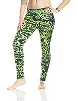 Sew It Seams Tie Dye Women's Cotton Lycra Leggings Crackle Pattern