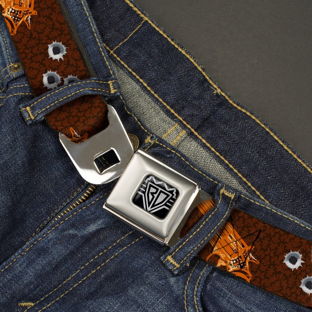 Multicolor Mens Buckle-Down Seatbelt Belt Revolver Kids 20-36 Inches BUCKLE-DOWN INC