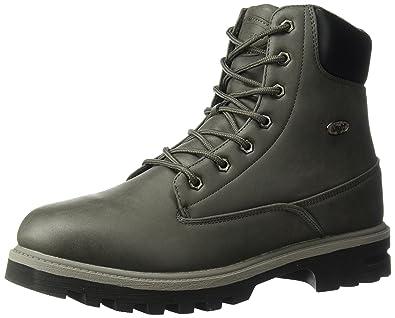 Lugz Men's Empire Hi WR Fashion Boot, Asphalt/Dark Asphalt/Black, 6.5