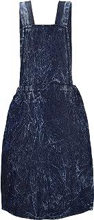C Crush Original Crush Girls Adjustable Denim A-Line Jumper Skirt Dress (See More Sizes)
