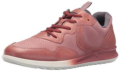 ECCO Women's Women's Genna Fashion Sneaker, Petal/Petal/Titanium, 35 EU/