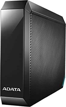 ADATA 4TB HM800 USB 3.0 ブラックメディア 外付けハードドライブ AHM800-4TU32G1-CEUBK (メディア外付けハードドライブ)