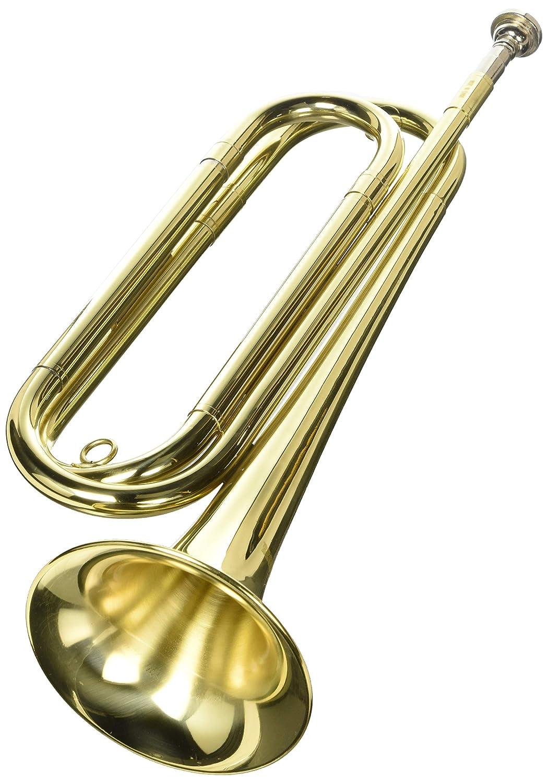 Regiment Regulation Bugle w/Bag Band-4500 KMC Music Inc 4500-U