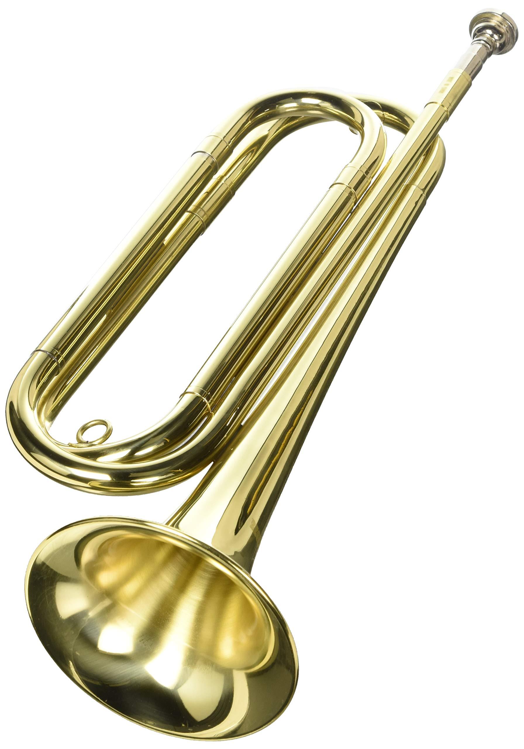 Regiment Regulation Bugle w/Bag Band-4500