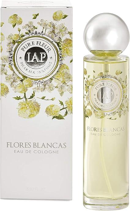 iap PHARMA PARFUMS Pure Fleure Flores Blancas - Eau de Toilette con vaporizador para Mujer - 150 ml: Amazon.es: Belleza