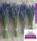 """Findlavender - Lavender Dried Premium Bundles - 18""""- 20"""" L - (4 Bundles) - 2015 Harvest"""