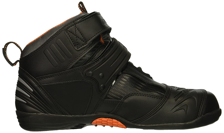Joe Rocket Atomic Mens Motorcycle Riding Boots//Shoes Black//Grey, Size 11
