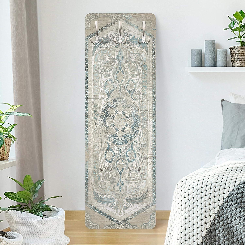 Holzpaneel Persisch Vintage IV 139 x 46cm Bilderwelten Garderobe Garderobenpaneel mit Haken