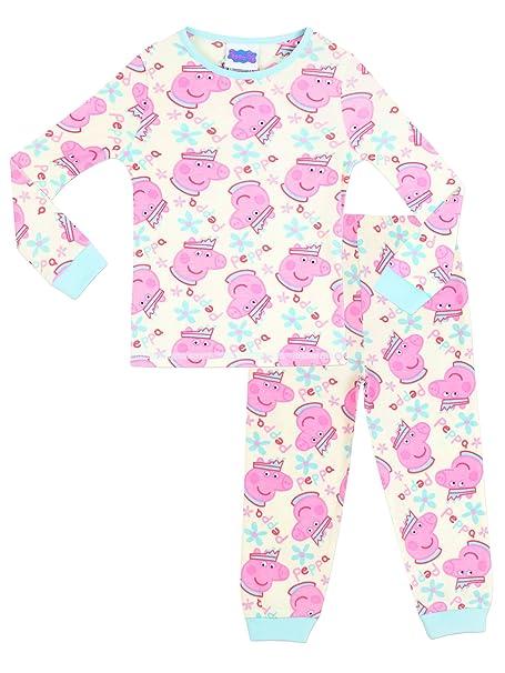 Peppa Pig - Pijama para niñas - Peppa Pig - Ajuste Ceñido - 2 - 3