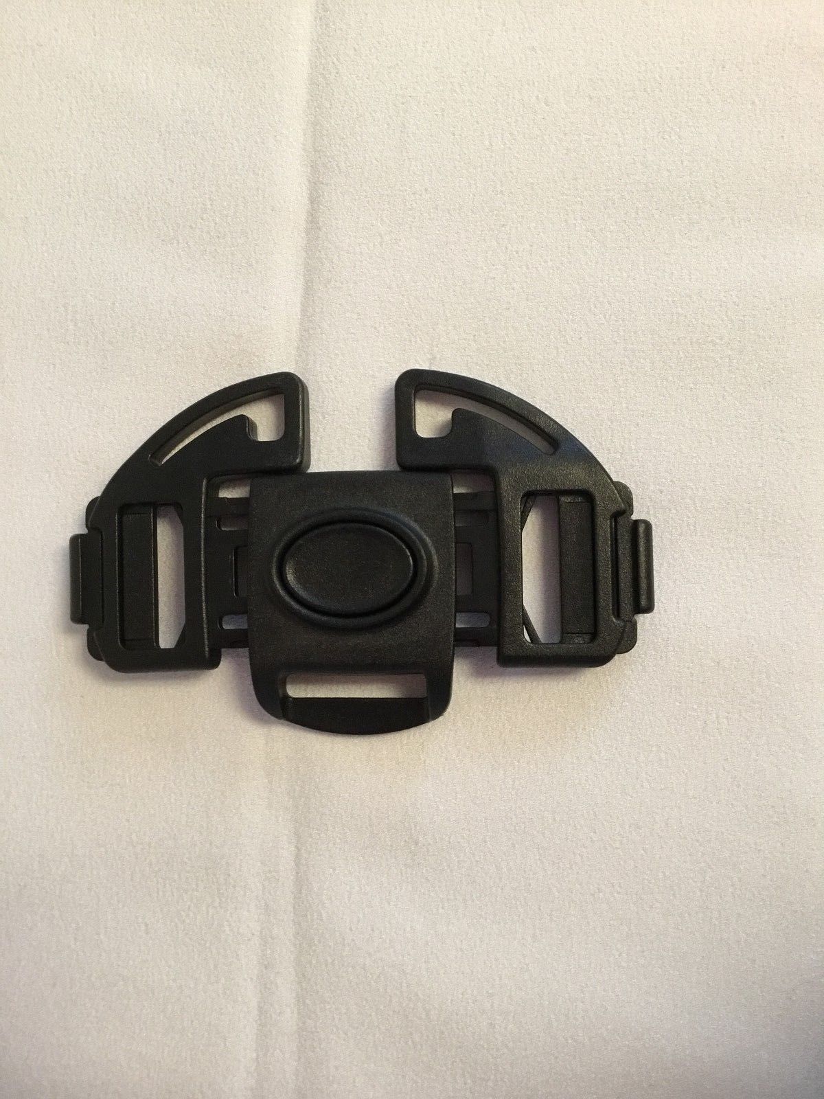 Black Buckle Clip Safety Harness Replacement Part for Baby, Toddler, Child Strollers, Bassinets, Joggers, Buggies (Hauck) by Ponini