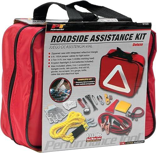 Wilmar Corporation W1555 Deluxe Roadside Assistance Kit