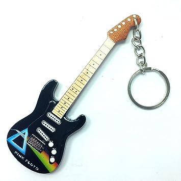 Llaveros de madera con forma de guitarra - Pink Floyd ...