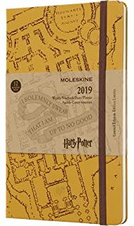Amazon.com : Moleskine Limited Edition Harry Potter 18 Month ...