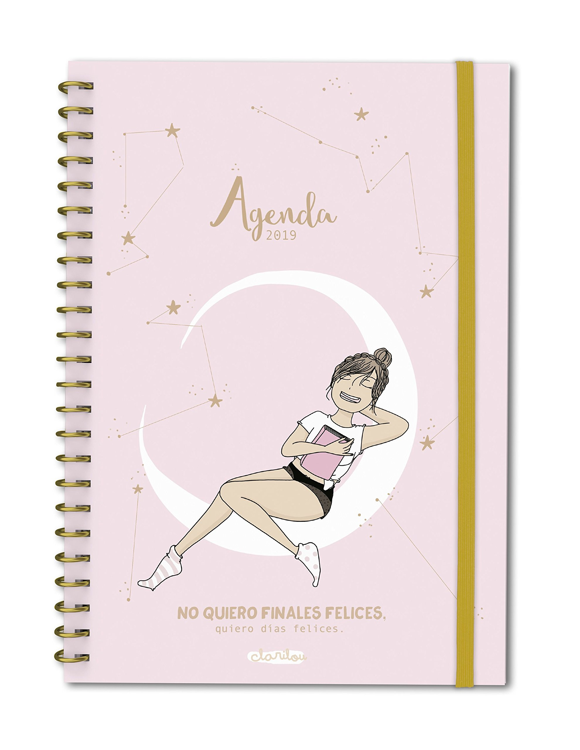 Agenda anual semana/vista Clarilou 2019 (TANTANFAN) Tapa dura – 13 sep 2018 Planeta Gifts 841716619X Stationery items Yearbooks