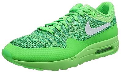 fbb157061e48 Nike Men s Air Max 1 Ultra Flyknit Running Shoes Orange  Amazon.co ...