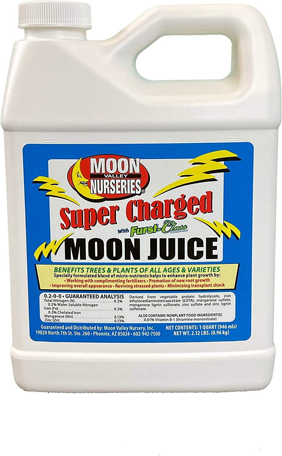Super Charged Moon Juice Tree and Plant Root Stimulator 1 Quart