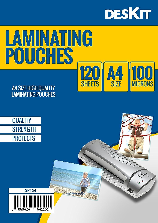 OLYMPIA Laminierfolie 100 X DIN A5 80 Mikron Laminiertaschen TOP-Qualität
