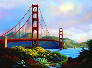 product image for Morning at The Golden Gate 1000 Pc Jigsaw Puzzle by SunsOut
