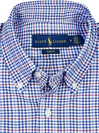 Ralph Lauren Camisa Polo SL BD Ppc SP Azul Hombre L Cadet Blue ...