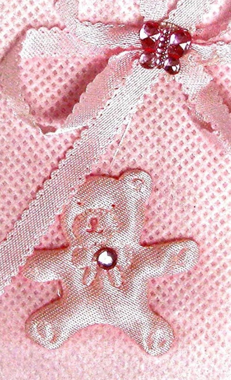 Linpeng Milk Bottle Organza Bag Baby Shower Pouch Pink//White