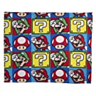 Character World Nintendo Brothers Decke 120x150cm