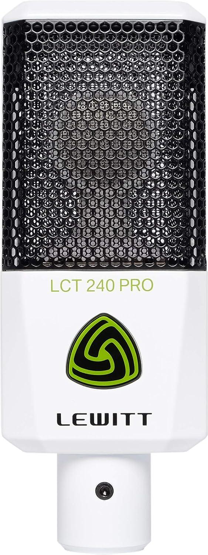 MICROFONO LEWITT LCT 240 PRO WHITE