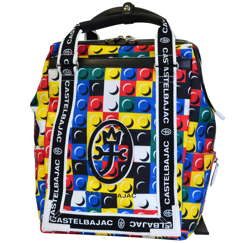 [カステルバジャック] CASTELBAJAC リュックサック ブロックシリーズ(Block)032701 B076D6B565 イエロ イエロ