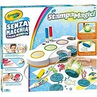 Crayola Color Wonder Gli StampaMagici Set Stampini Colore senza Macchia, 25-0271