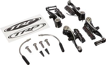 Black Front /& Rear TRP CX8.4 Alloy Mini V-Brake Calipers Set