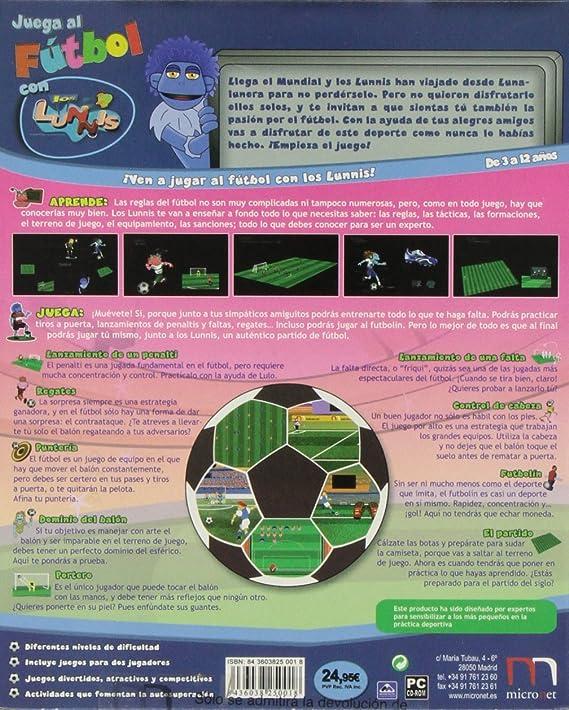 Juega Al Fútbol Con Los Lunnis: Amazon.es: Videojuegos