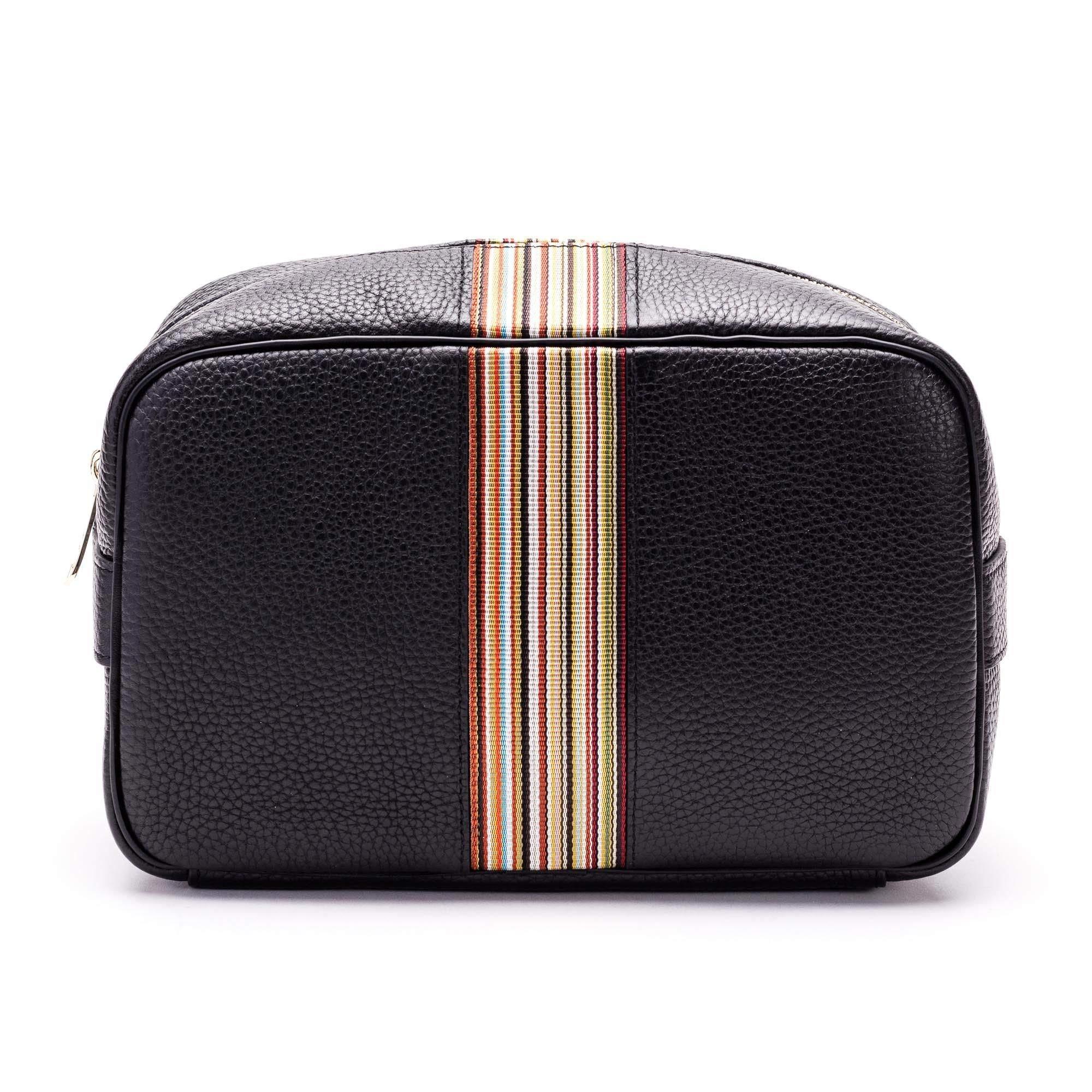 Paul Smith Men's M1a5360a4000979 Black Leather Beauty Case