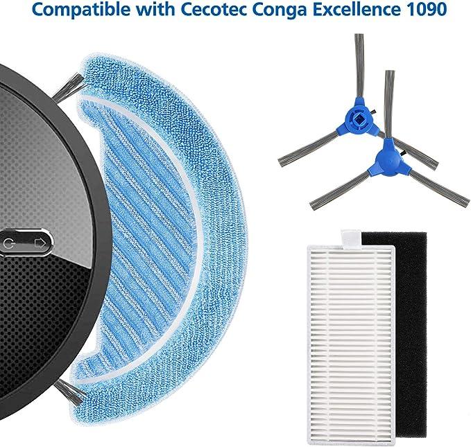 Isincer Accesorios de Robot Aspiradora (Conga 1090): Amazon.es: Hogar