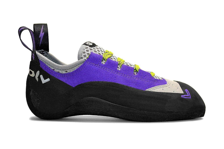 Evolv Nikita Climbing Shoe - Women's B00TGQ031U 5.5 B(M) US|Violet/Gray