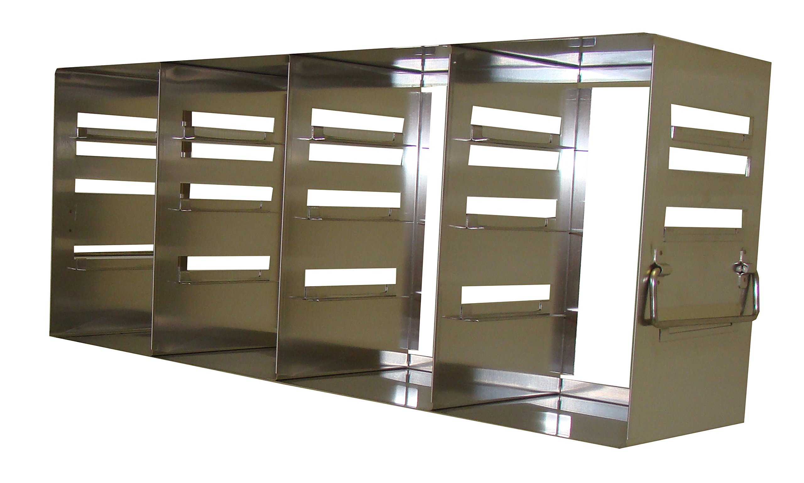Adjustable Freezer Rack, Holds 2 and 3 Inch Boxes, 22 1/8 x 5 1/2 x 8 7/8 Inches