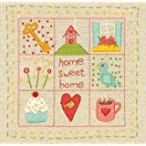 Dimensions Crafts 72-74050 Home Sampler Embroidery Kit
